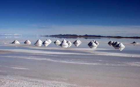 Endless salt flats